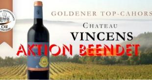 Der Weinversand Cahors Wein-Aktion beendet