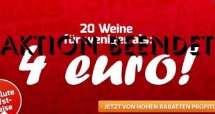 Weinvorteil Wein-Aktion 4Euro beendet