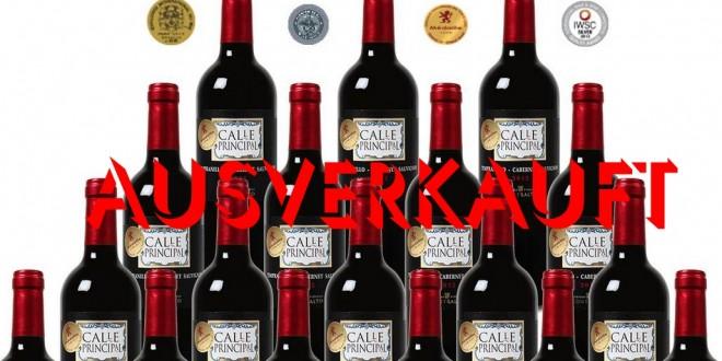 Weinvorteil Bodegas Wein-Angebot ausverkauft