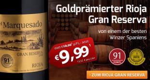 Goldprämierter Rioja Gran Reserva
