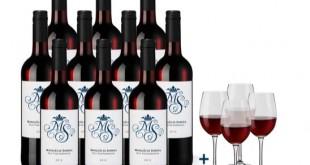 Hawesko Rotwein Weingläser