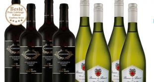 Vorteilspaket Italien 8 Flaschen bei ebrosia