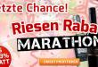 Letzte Chance! Rabatt Marathon bei Weinvorteil