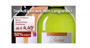 Wein-Angebot